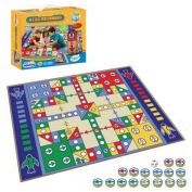Children Board Games Toys Develop Brains, Single-sided 155x98 Boxed Fly Checkers Blanket