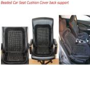 Universal Beaded Car Seat Cushion Comfortable Back massage Wooden Bead Cover Van