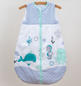 Newborn Sleeping Bag 0-6 Months, 86cm Short Sleeve - Pattern 13