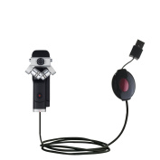 USB Power Port Ready retractable USB charge USB cable wired specifically for the Zoom Q8 Handy Video Recorder and uses TipExchange