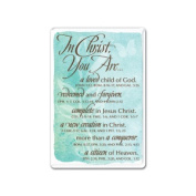 Lighthouse Christian Products 089633 Magnet-In Christ You Are - No. 60807