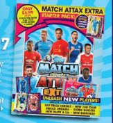 Topps Match Attax Extra 16/17 EPL 2016/2017 Starter Pack Album With Kevin De Bruyne Gold Limited Edition