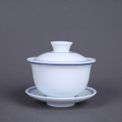 Antique Kung Fu Tea Sets Cover Bowl Cup 150ml