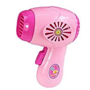 Veroda Plastic Simulation Hair Dryer Home Appliance for Kids Role Play Toys