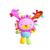 Veroda Baby Rattle Ring Squeaky Plush Toy Crib Hanging Comforter Rabbit