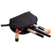 Feyarl Makeup Half Moon Cosmetic Beauty Bag Travel Handy Organiser Pouch