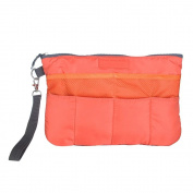 Brendacosmetic New Makeup Bag Inset Organiser Bag Package Pocket,Makeup-Bag Cosmetic Bag Organiser Purse Bag in Bag for Storing.