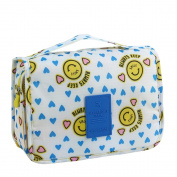 Brendacosmetic Multifunctional Waterproof Handle Makeup Bag Organiser Bag,Potable Toiletry Wash Bag Cosmetic Makeup Bag Travel Bag for Storing
