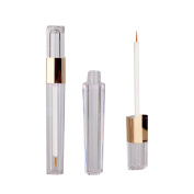 2Pcs 3ml Multi--functional Empty Acrylic Eyelashes Tube Mascara Tube Eyeliner Vials Bottle Container