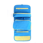 Brendacosmetic Multifunctional Portable Set of 5 Pack Foldable Cosmetic Bag Storage Bag Makeup Pouch, Waterproof Oxford Cloth Essential Travel Bag Toiletry Kits Organiser Cases for Travel