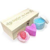 Twisted Envy Personalised Sister-In-Law Luxury Wooden Spa Kit Box Collection 2