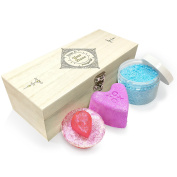 Twisted Envy Personalised Ornamental Diamond Luxury Wooden Spa Kit Box Collection 2