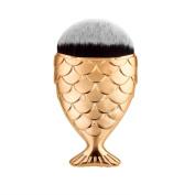 Start Brush Fish Scale Fishtail Bottom Powder Foundation Makeup Cosmetic Brush