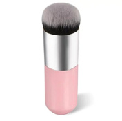 Brendacosmetic Professional Flat Round Foundation Brush Powder Brush,Portable Essential Makeup Cosmetic Tool Blush Brush Cream BB Brush for Face Beauty