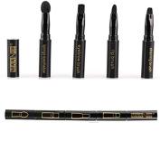 Brendacosmetic Multifunction Makeup Cosmetic Brushes with Sponge Eyeshadow Eyebrow Lip Eyebrow brushes,Four Brushes as Cosmetic set makeup Essential for Women