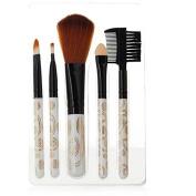 Brendacosmetic 5 Pcs Pro Makeup Brushes Set Kit with Powder Eyebrow Eyeshadow brush, Blush Brush Makeup Tool for Face Painting