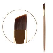 Eyebrow Brush, Molie Professional Flat Angled Eye Brow Eyeliner Makeup Brush