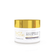 THOZ MD Revitalising Cucumber Eye Repair Cream - firms and nourishes thin skin around the eyes with anti-ageing vitamins, peptides & botanicals, 15ml