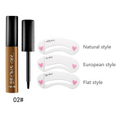 Shouhengda Makeup Peel-off Eyebrow Gel Tattoo Waterproof Long Lasting Eyebrow Colour Beauty