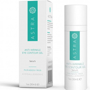 Astra Cosmetics Anti-Wrinkle Eye Contour Gel Serum, 30 mL