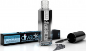 Divaderme Fibre Wings Mascara II - 100% Natural Semi Permanent - Natural Fibre Mascara + Argan Enhancer Treatment - Made in USA