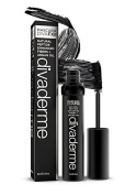 Divaderme Mascara Diva FX II - 100% Natural Semi Permanent - Natural Peptide Enhanced Fibres + Argan Oil - Made in USA