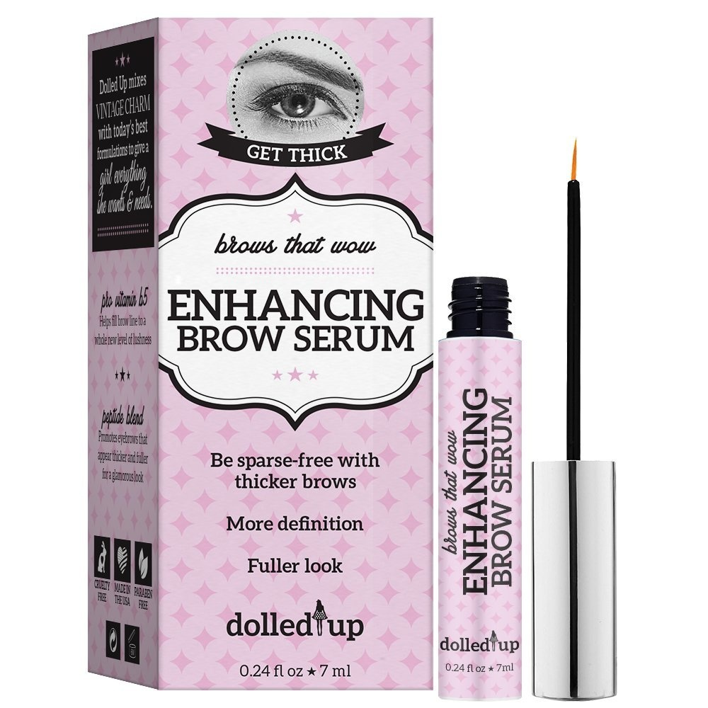 Dolled Up Enhancing Brow Serum By Dolled Up Shop Online For Beauty