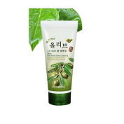 Olive Skin Relief Foam Cleansing Face Cleanser Herb Essence