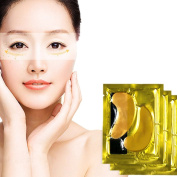 Kinghard 5PCS Moisturising Beauty Gold Collagen Crystal Eye Mask To The Dark Eye Water
