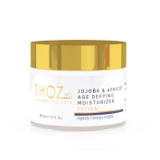 THOZ MD JoJoba & Apricot Age Defying Moisturiser - peptide firming complex diminishes wrinkles and improves skin elasticity, 50ml