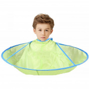 ATOP VALUE Hair Cutting Cloak Umbrella Cape Salon Waterproof Child Home Barber Hairdressing for Family Hairstylist Design Gown Barbers