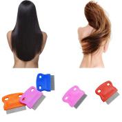 Xiaosan Terminator Lice Comb Brushes Hair Rid Headlice Stainless Steel Metal Teet