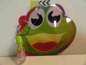 Froggy Coin Purse with Vanilla Lip Gloss