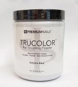 Premium Nail Acrylic Nails Trucolorpowder - 470ml/453g - Extreme Black