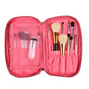 Portable Makeup Brush Package,Fheaven Professional Brush Brush Tool Bags Cosmetic Boxes Portable Zipper Bag
