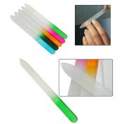 MIRADA (TM) Nail Beauty Durable Nail Art Files Tool Crystal Glass Nail File Buffer