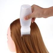 DDLBiz Hair Dye Bottle Applicator Brush Dispensing Salon Hair Colouring Dyeing Bottle