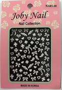 Nail Sticker/Nail Decal 3D Collection - Bows & Wings