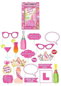 20Pc Wedding Hen Party Photo Booth Selfie Props Set