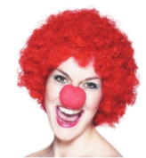 Comic Relief Red Nose Day Wig