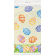 Plastic Spring Easter Tablecloth, 2.1m x 1.4m
