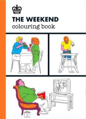 The Weekend Coloring Book (Modern Toss Coloring Books)
