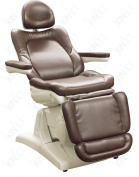 Modena Spa Treatment Table Italian Design By Skin Act (Dark Brown) Facial Chair