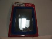 Magnetic Blue Rectangular Mirror