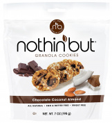 Nothin' But Granola Cookies, Chocolate Coconut Almond, 6 Count