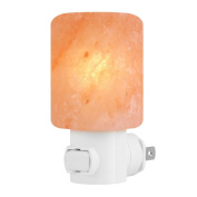 Syntus Himalayan Salt Lamp Natural Crystal Salt Light Glow Hand Carved Night Lights Wall light with UL Listed Plug for Lighting, Decoration and Air Purifying