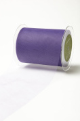 May Arts 471-5-43 Light Purple 13cm Tulle Ribbon,Light Purple,50 yd