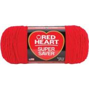 Red Heart E302C.0319 Super Saver Jumbo Yarn, Cherry Red by Coats & Clark Inc.