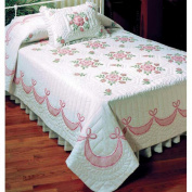 Design Works Rose of Sharon Quilt Top Stamped Cross-Stitch