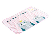 (PINK Owl) Urine Pad Baby Nappy Pad Mattress Pad Sheet Protector for Baby
